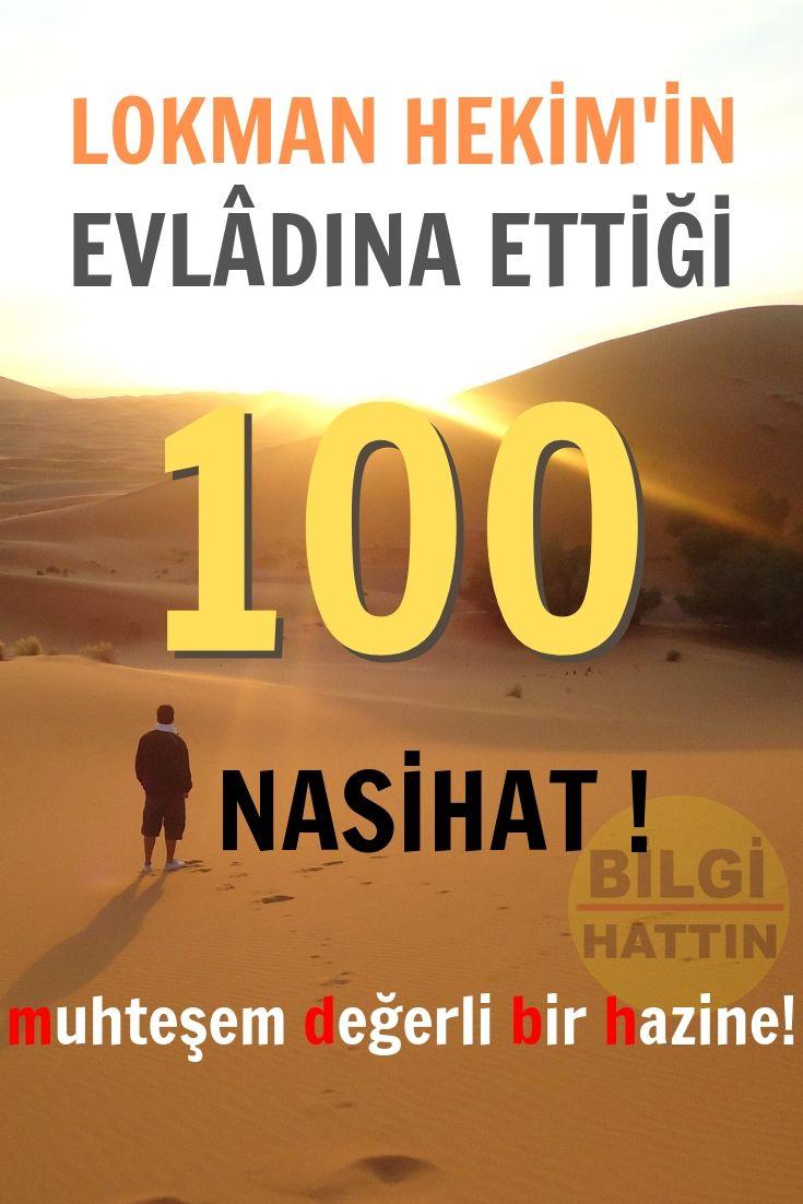 LOKMAN HEKİM'İN OĞLUNA 100 ÖĞÜDÜ
