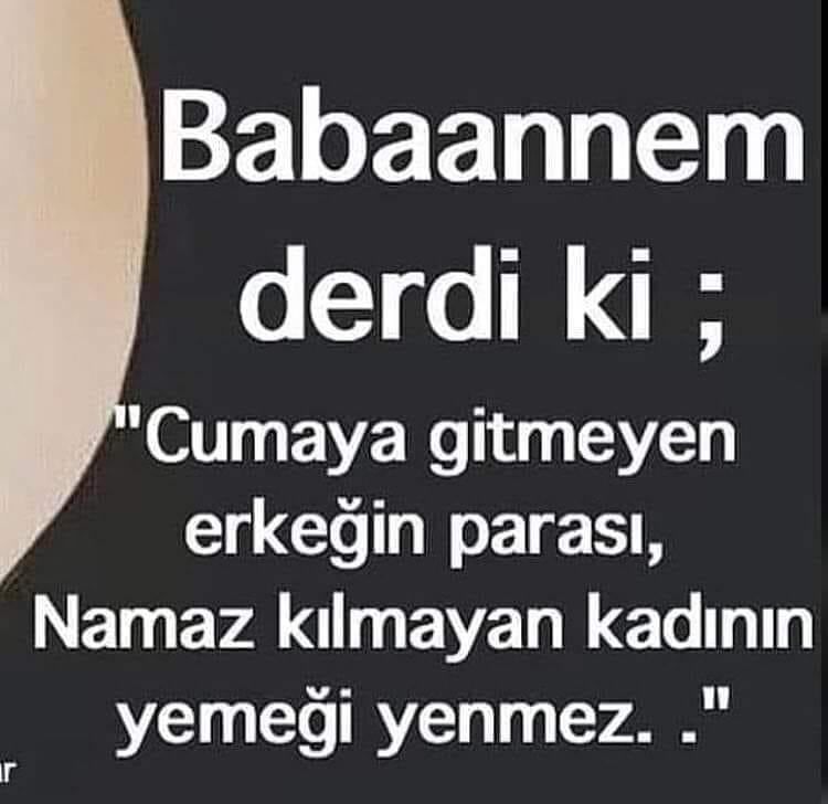 BABAANNEM DERDİ Kİ