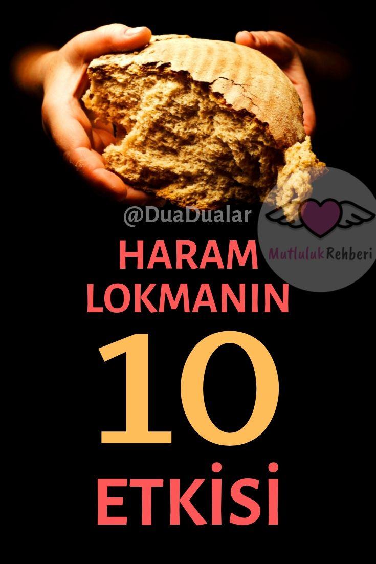BİR HARAM LOKMANIN 10 ETKİSİ